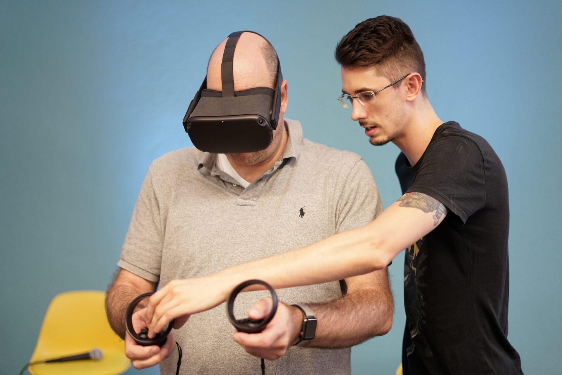 Virtual Reality im Einsatz